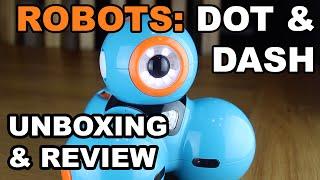 Robots DOT & DASH: Review & Unboxing (AKA Bo & Yana)