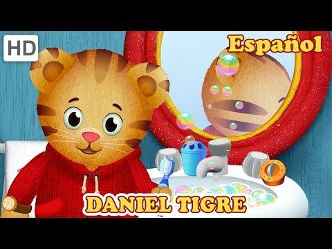 Daniel Tigre en Español - Prepararse Para ir a Dormir