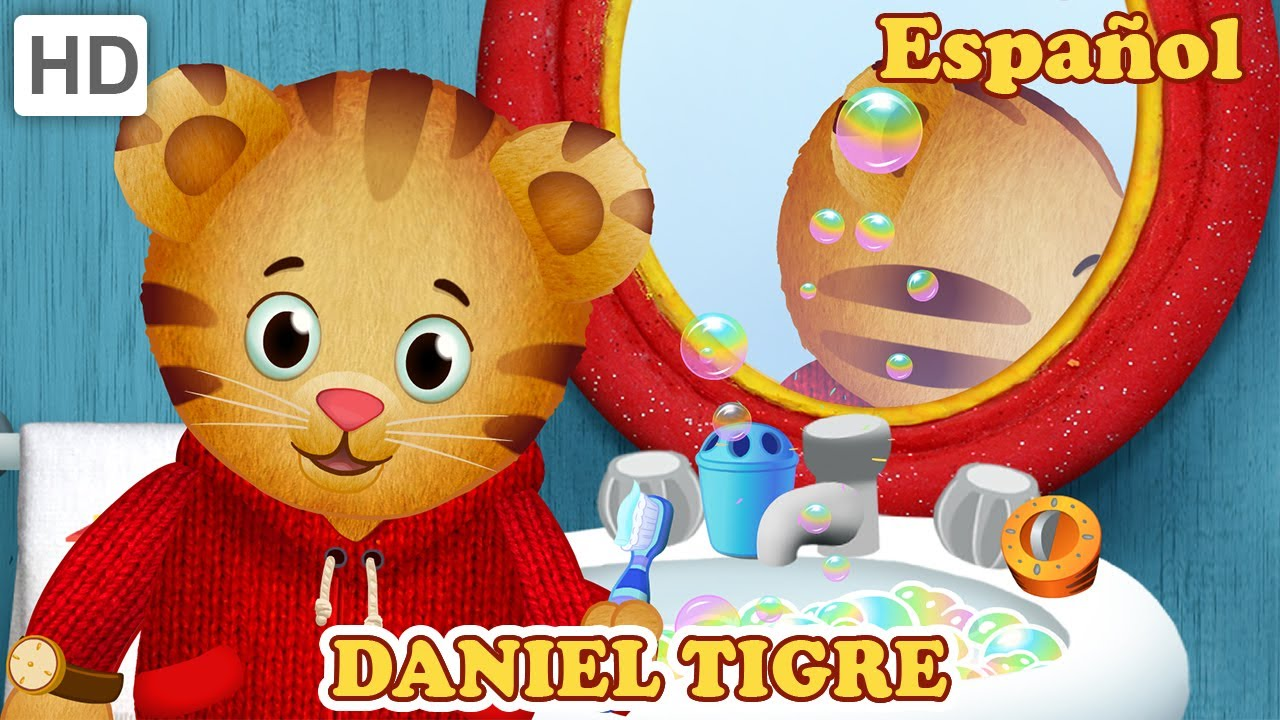 Daniel Tigre en Español - Prepararse Para ir a Dormir ...