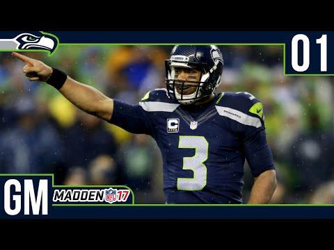 Madden NFL 17 Owner Mode - Welcome to Seattle! [Deutsch]