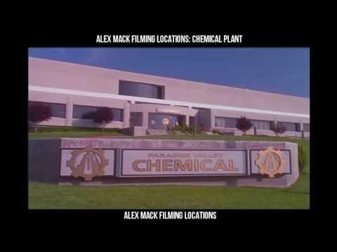 Filming Location: The Secret world of Alex Mack, Chemical Plant