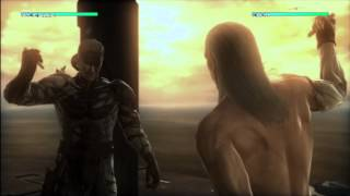 Metal Gear Solid 4 - Final Boss