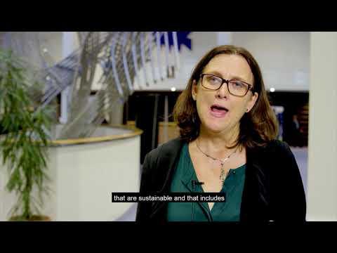 EPE2018: Video interview of Cecilia Malmström, European Commissioner for Trade