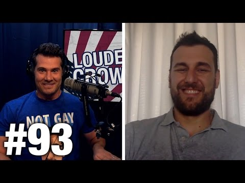 #93 TO THE SAFE SPACES! Andrew Bogut and Christopher Titus | Louder With Crowder