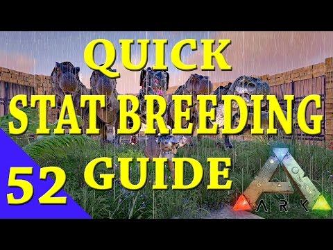Ark Survival Evolved - Stat Breeding Guide