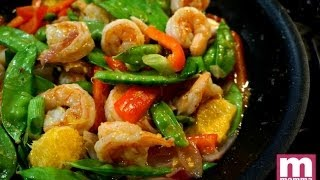 Orange Shrimp Stir Fry | Great Everyday Meals By Momma Cuisine