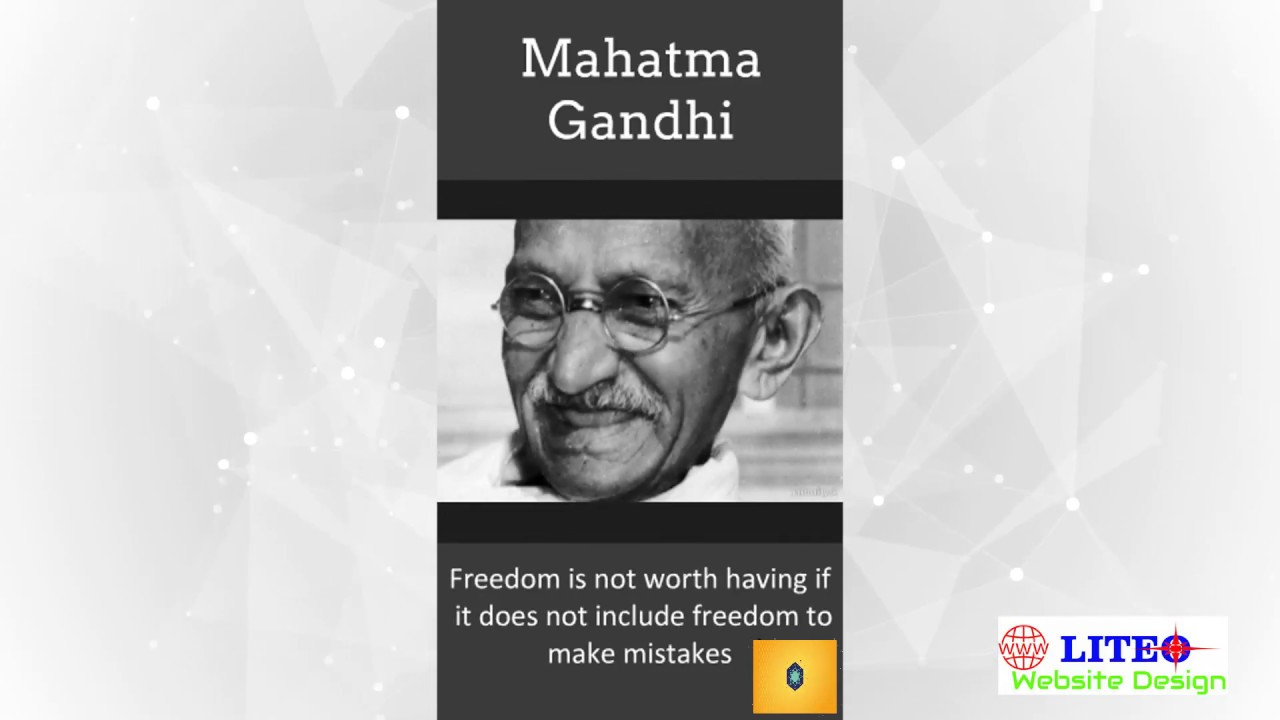 an analysis of the quote of mahatma ghandi Best quotes by gandhi- collection of 100+ best mahatma gandhi quotations, gandhi sayings, mahatma gandhi quotes on education, peace, love & leadership.