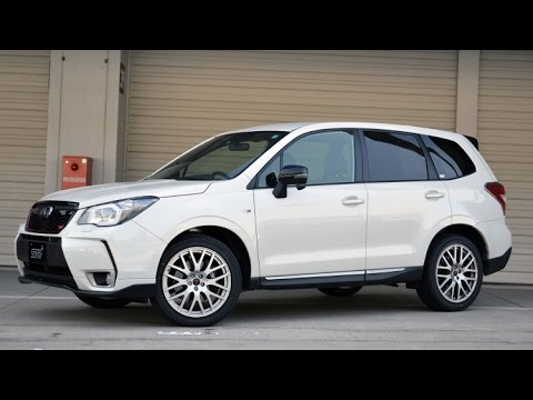2015 Subaru Forester tS | Engine Turbo 2.0L Boxer-4 - YouTube
