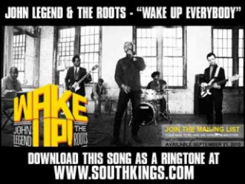 "John Legend & The Roots - ""Wake Up Everybody"" [ New Video + Lyrics + Download ]"