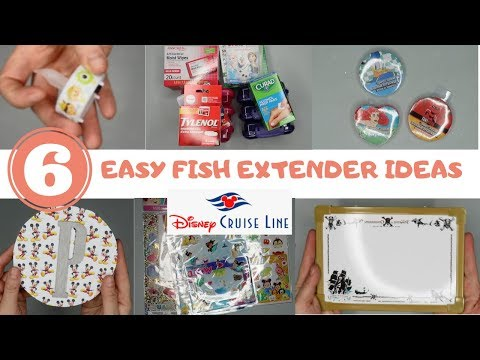 6 EASY FISH EXTENDER IDEAS | DISNEY CRUISE LINE // WDWGIRL