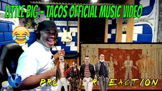 LITTLE BIG   TACOS Official Music Video - Producer Reaction