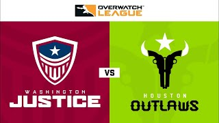 Overwatch Full Match Washington Justice vs Houston Outlaws OWL 2020 Season Week 2 Day 2