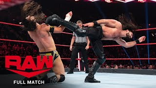 FULL MATCH - Adam Cole vs. Seth Rollins – NXT Title Match: Raw, Nov. 4, 2019