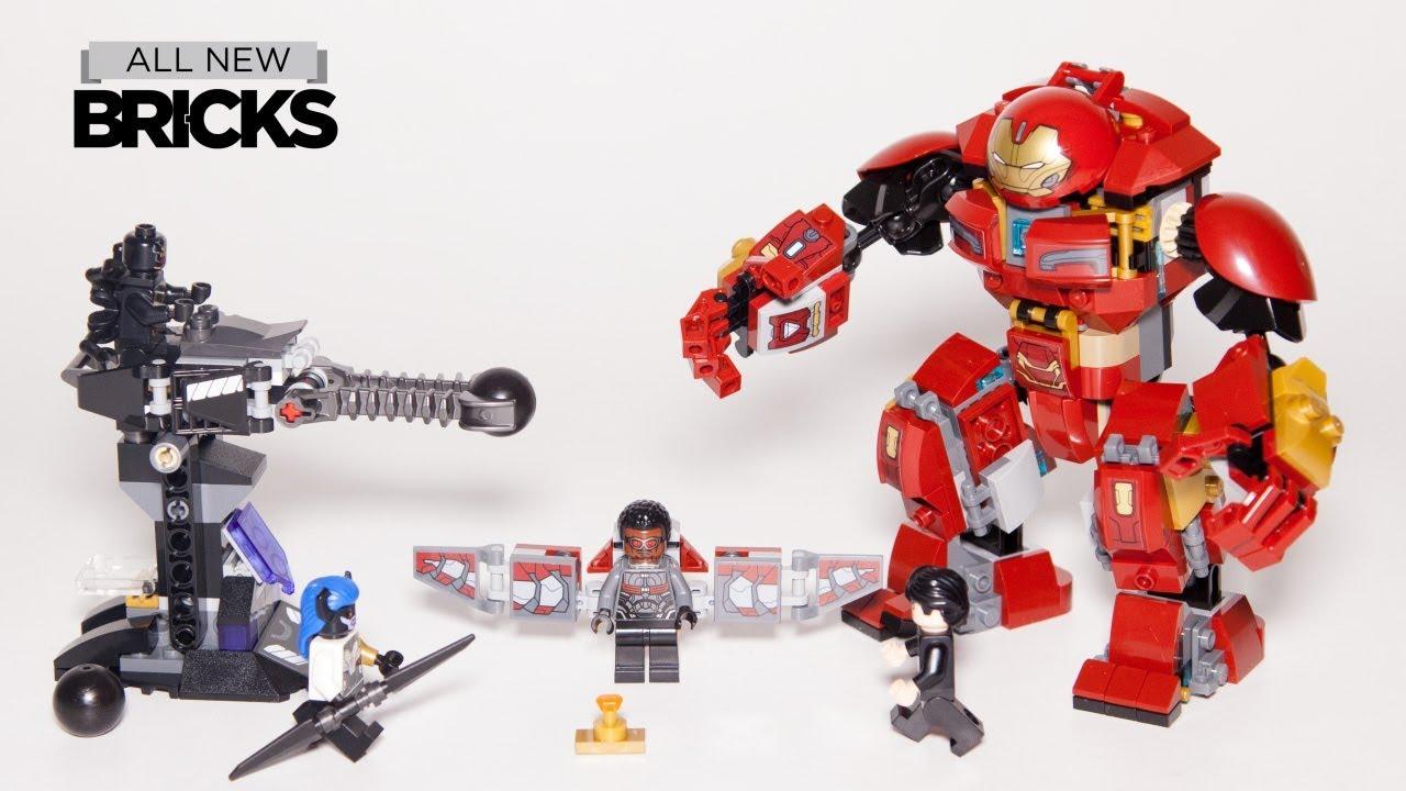 Lego Marvel Super Heroes 76104 The Hulkbuster Smash-Up Lego Speed Build with Minifigure Animation
