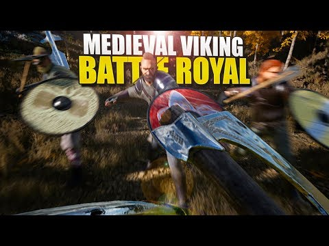 A NEW MEDIEVAL VIKING BATTLE ROYALE GAME (Valhall)
