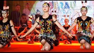 TARIAN GADIS DAYAK💎Tepian Buah💎Segah💎Kalimantan Timur💎Seni Budaya💎IRAU BERAU EXPO 2016