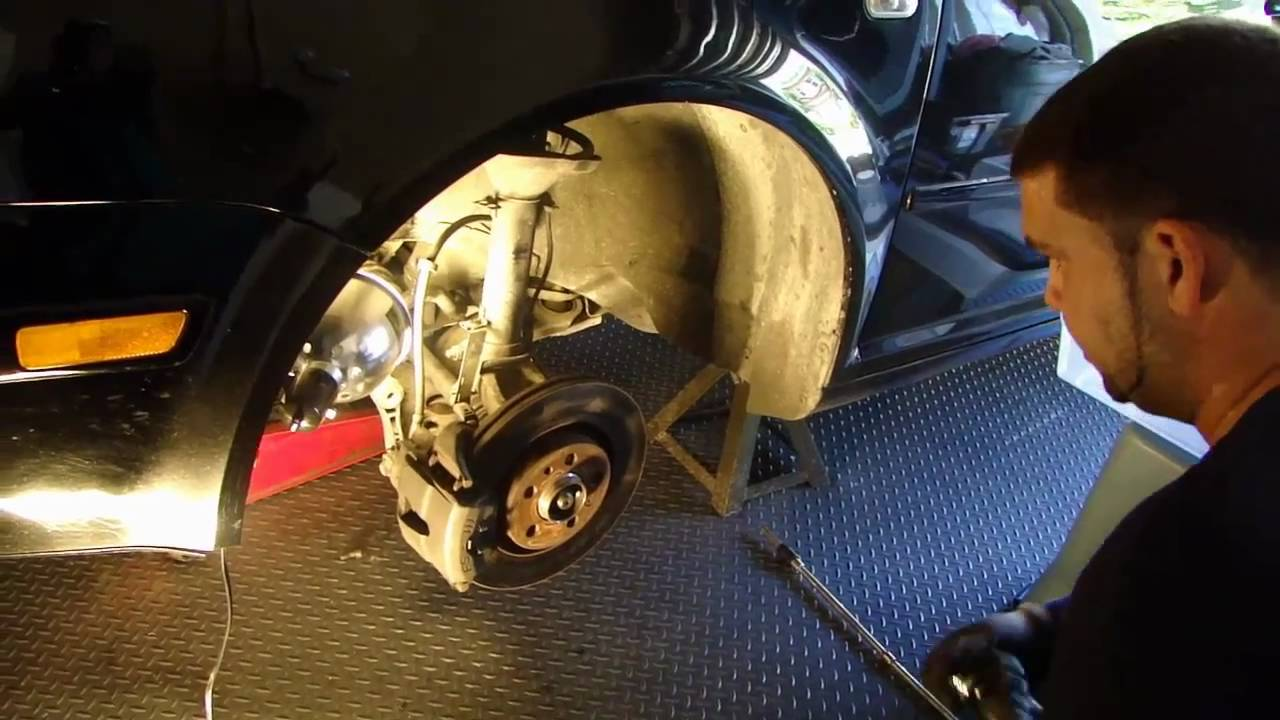Vw Diy How To Install Replace Fix A Cv Joint Drive