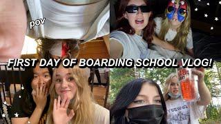 FIRST DAY OF BOARDING SCHOOL VLOG!!!! | Ella Katherine