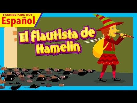 el flautista de hamelin cuento en español - cuentos españoles