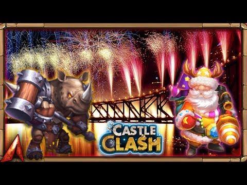 Rolling Some FIREWORKS! Castle Clash