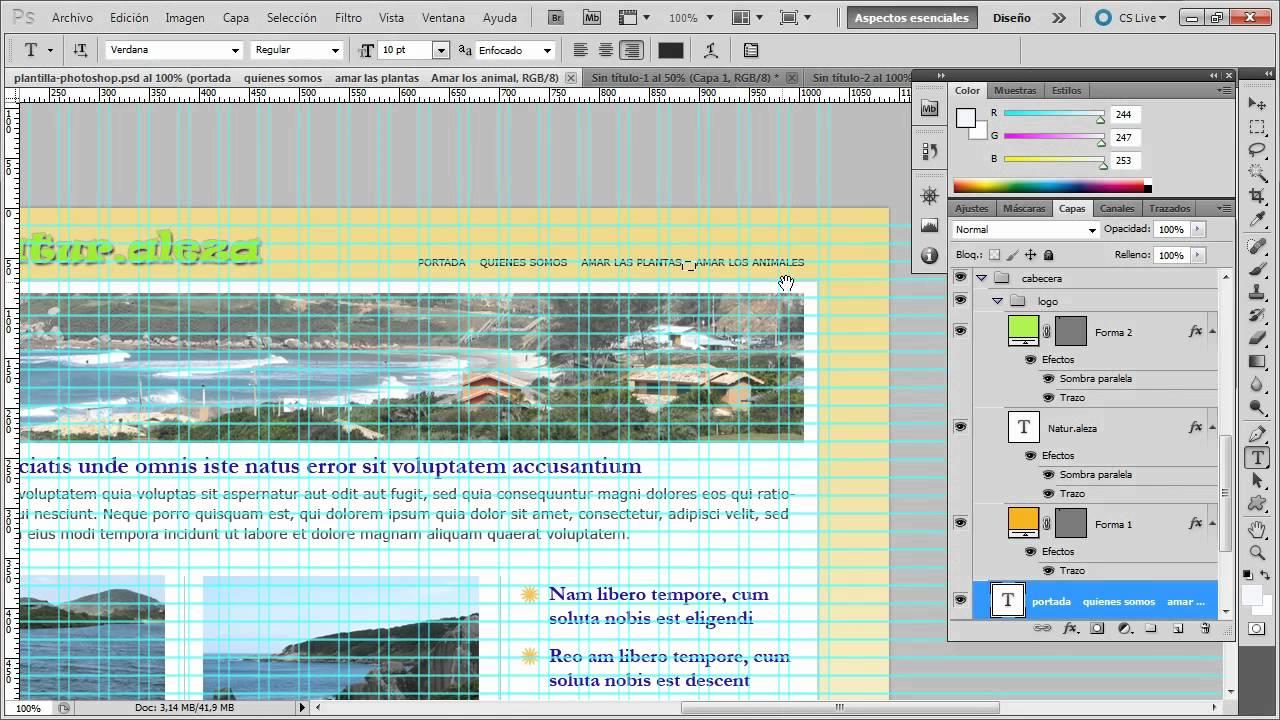 Prctica de maquetacin blueprint parte 1 de 3 youtube prctica de maquetacin blueprint parte 1 de 3 malvernweather Images
