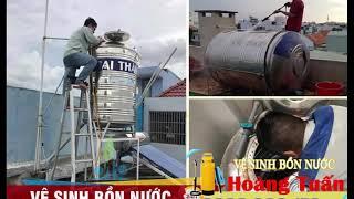 Dịch Vụ Vệ Sinh Bồn Nước, Bể Chứa Nước Tại TPHCM -  0933.966.179