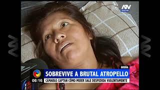 Breña: Mujer sobrevivió a un brutal atropello