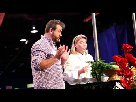 D23 Expo 2013: Live Well Network host Joey Fatone