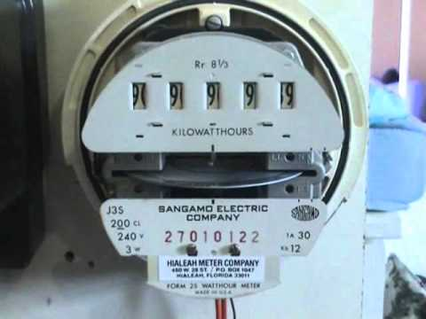 how to use electric meter