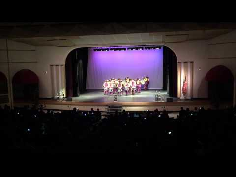 Boynton beach High School Drumline 2015 Drumline Sound Off