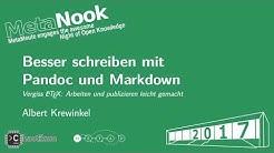 Besser schreiben mit Pandoc und Markdown von Albert Krewinkel