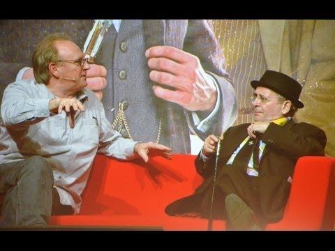 Doctor Who 50th Anniversary Excel Panel Peter Davison  Colin Baker  Sylvester McCoy