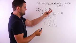 Gleichungssystem lösen mit inverser Matrix, LGS lösen | Mathe by Daniel Jung