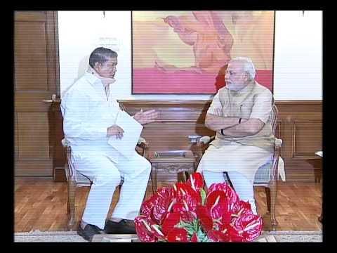 Uttarakhand CM Harish Rawat calls on PM Modi