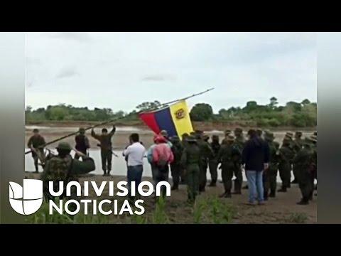 Militares venezolanos desinstalaron su campamento en territorio colombiano