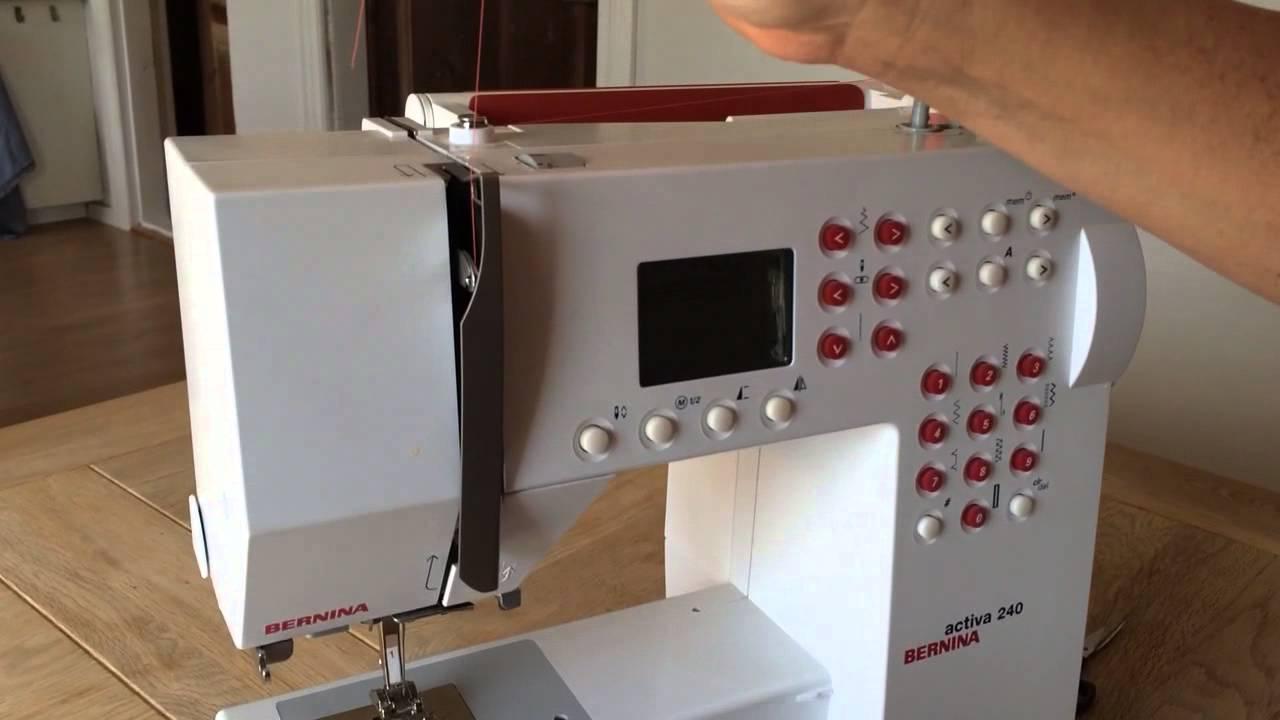 Symaskine: Overtråd