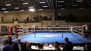 Matias Sylvan vs Modo Sallah - Finale SM Boxning 2014