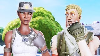 I told my RANDOM DUO he could use my RECON EXPERT, little did he realize... (Fortnite)
