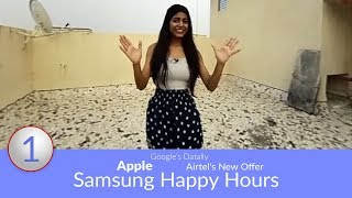 Daily Tech Updates: Samsung Happy Hours, Airtel's New Offer, Google's Datally, Apple