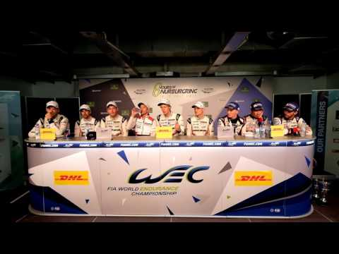WEC - 2017 6 Hours of Nürburgring - Post-Race Press Conference