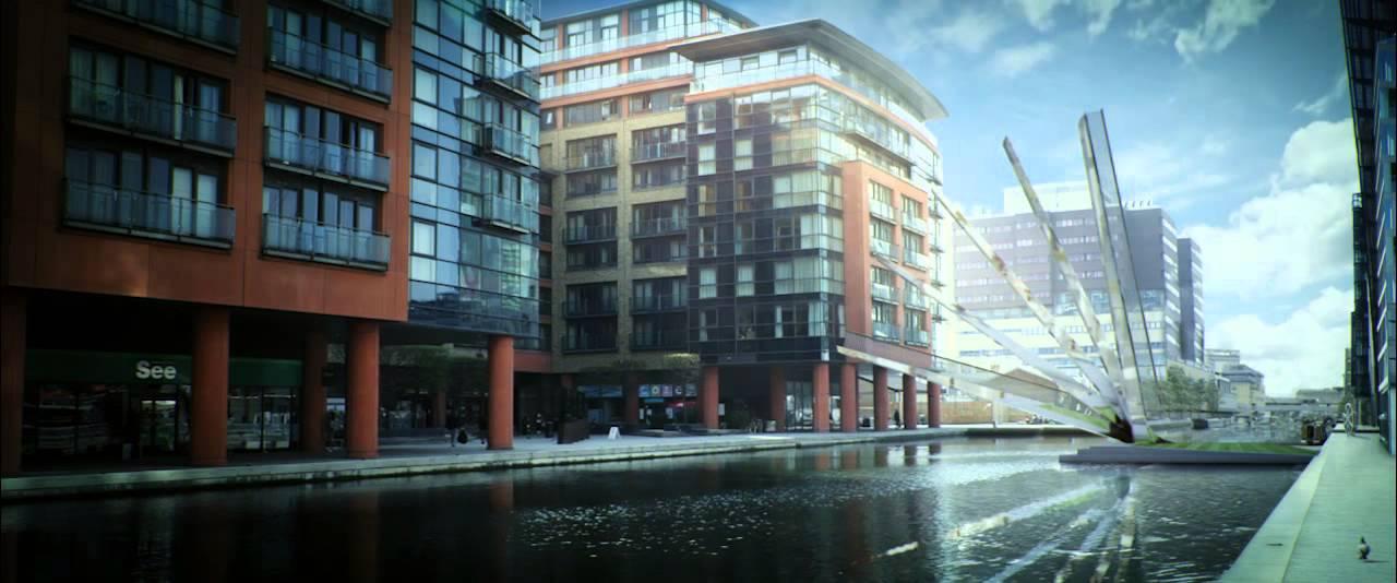 Paddington's Fan Bridge at Merchant Square - YouTube