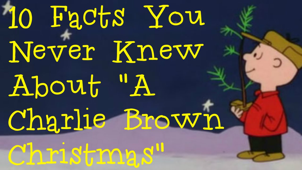 10 Things To Know About 'A Charlie Brown Christmas'
