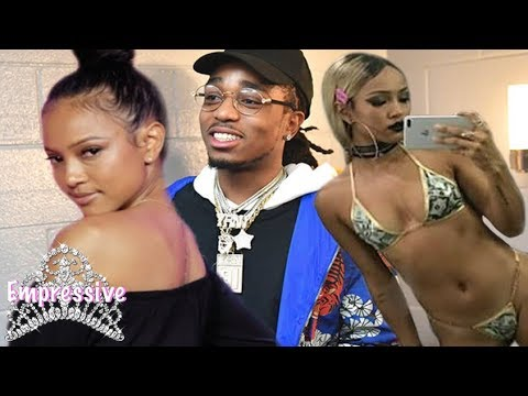 Karrueche Tran responds to negative comments about her body. Quavo defends her