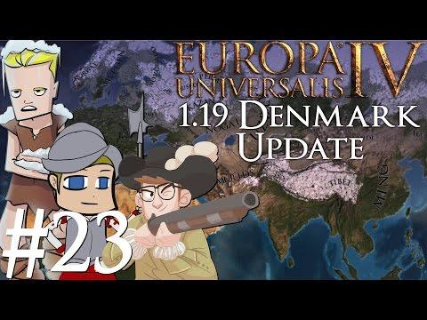 Europa Universalis 4   Denmark 1.19 patch   Part 23