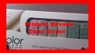 Product Review -- Color Street    VEDA 4-5-2018
