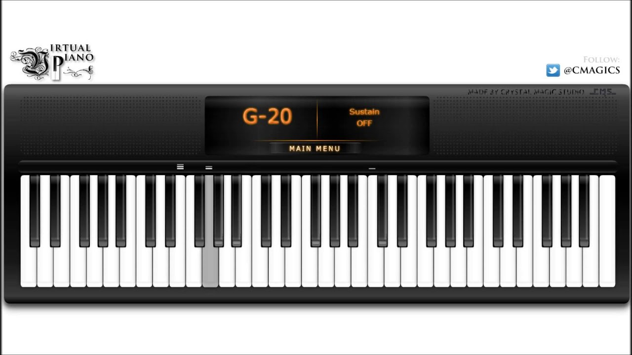 Prelude In C Major Bach Virtual Piano