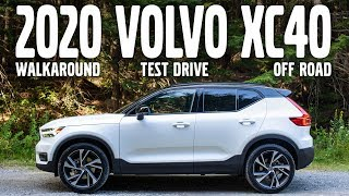 2020 Volvo XC40 R-Design Walkaround, Test Drive, and Off-Road Review