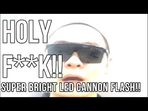 How to install SUPER BRIGHT Cannon Flash