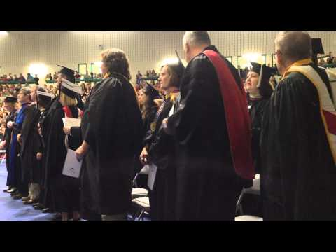 Clinton Community College graduation: recognition of faculty