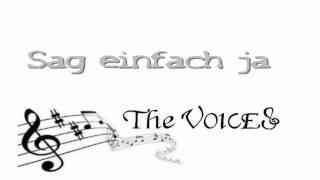 sag einfach ja LIVE / www.the-voices.npage.de